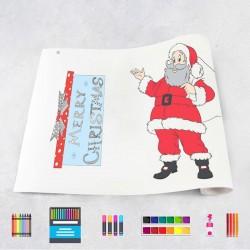 Zeichungen auf Rolle Weihnachten 1