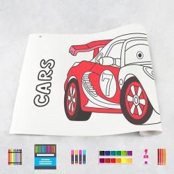Zeichungen auf Rolle Autos 1