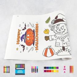 Zeichungen auf Rolle Halloween