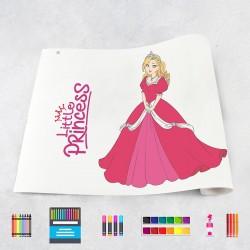Zeichungen auf Rolle Prinzessinnen