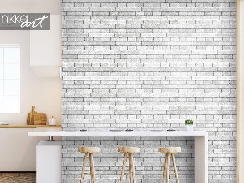 Tapete Backsteinmauer Textur