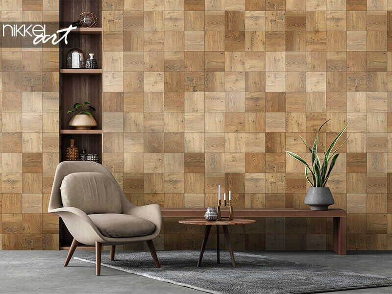 Tapete nahtlose Holzparkett Textur