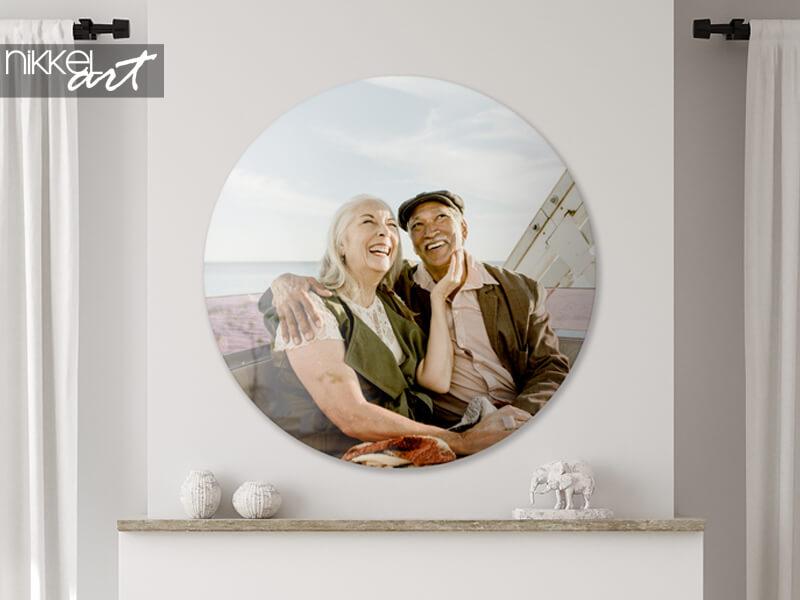 Ihr Foto auf rundem Acrylglas
