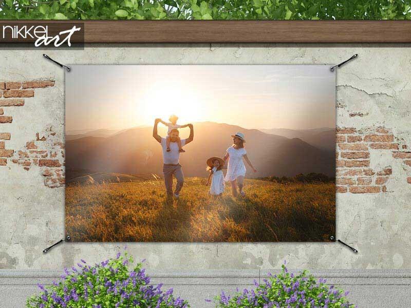 Erstellen Sie ein Gartenposter mit Ihrem eigenen Foto