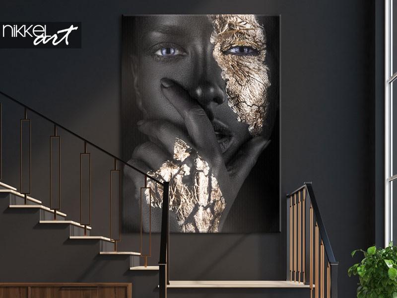 Großformatiges Leinwandfoto als Blickfang in Ihrem Zuhause