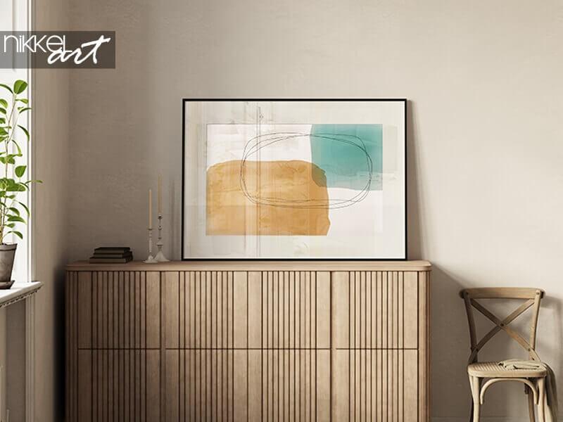 Deko-Trend: Minimalistische Poster