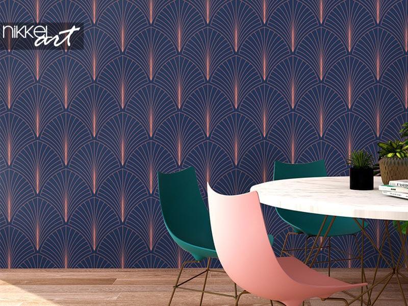 Art-Deco-Tapeten: Bringen Sie Pracht in Ihr Interieur