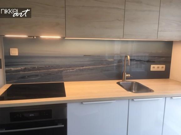 Plexiglas Küche Rückwand Meerblick