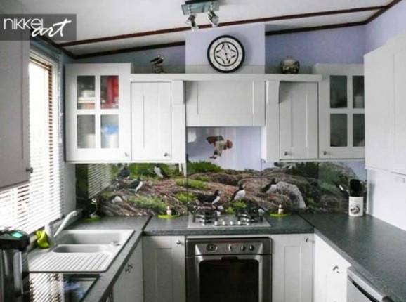 Küche Foto Rückwand