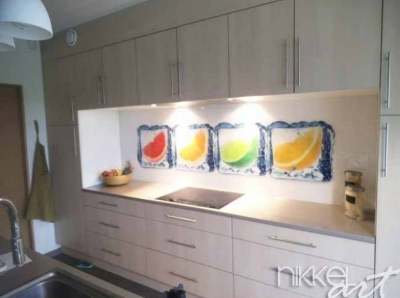 Küchenrückwand Glas In dem Eis