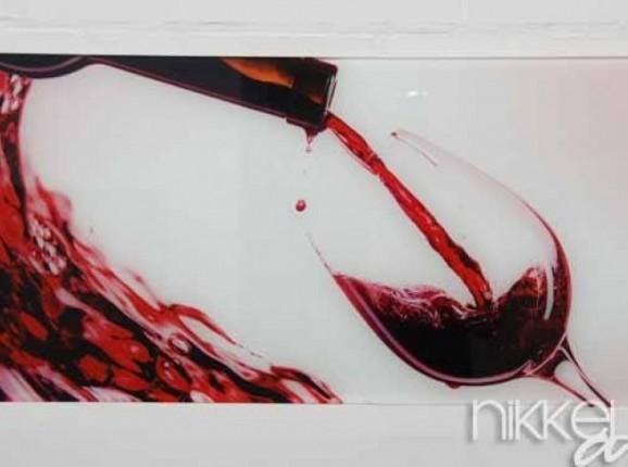Küchenrückwand foto glas Alkohol