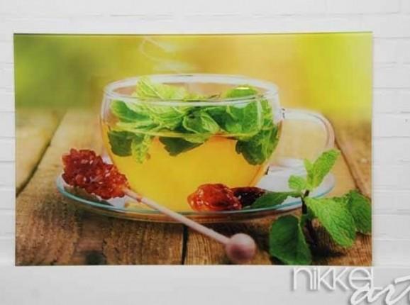 Küchenrückwand foto glas Tee