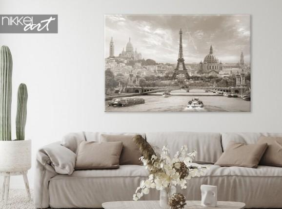 Paris auf Leinwand