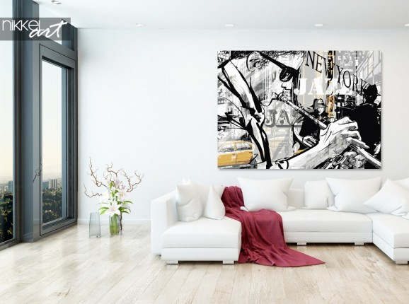 Foto auf Alu-dibond Art Studio