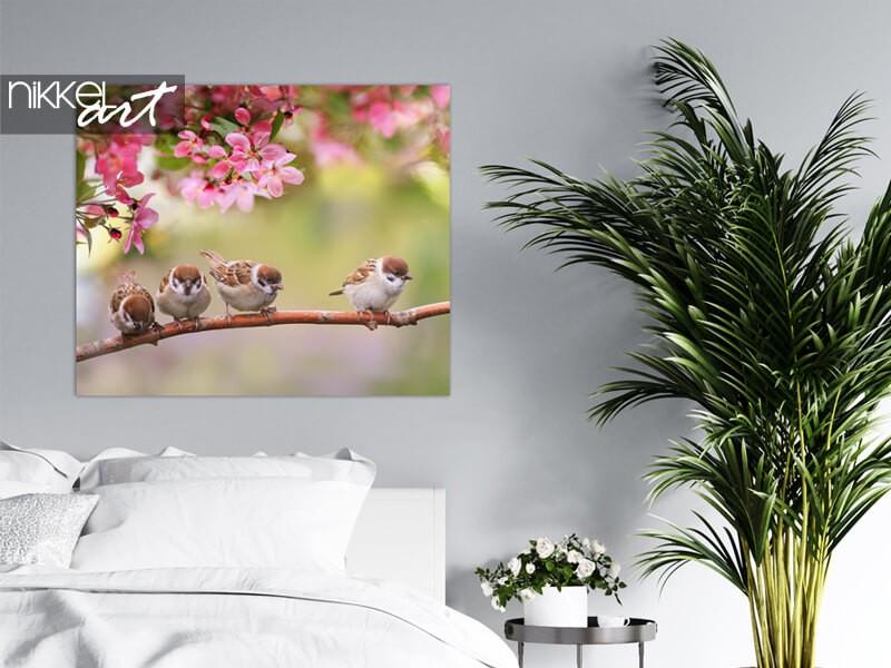 Frühlingsbild auf Poster