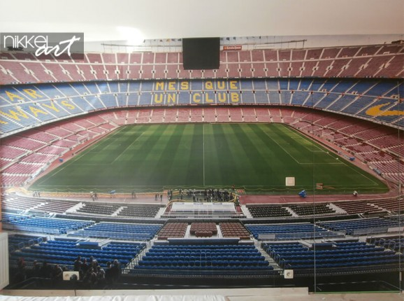 Fototapete von Camp Nou