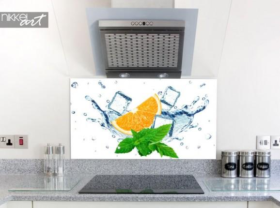 Küchenrückwand glas motiv - In dem Eis