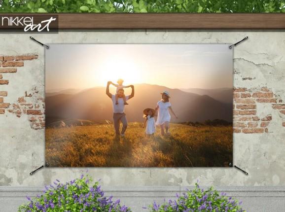 Gartenposter mit Ihrem eigenen Foto