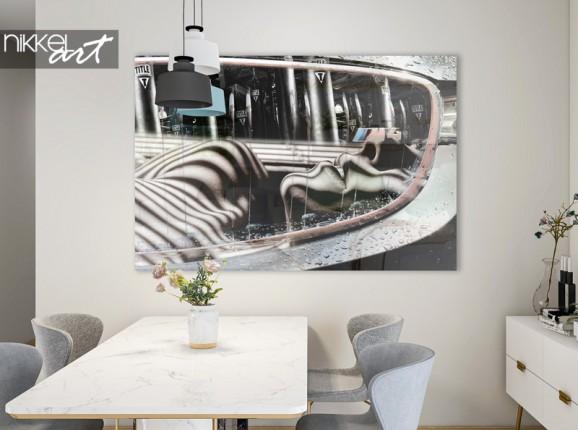 Graue Linien -  Fenna van der Vliet auf Acrylglas