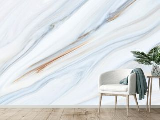 Marble rock texture blue ink pattern liquid swirl paint white dark that is Illustration background for do ceramic counter tile silver gray that is abstract waves skin wall luxurious art ideas concept.