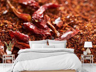 dried chilli and dried chilli powder