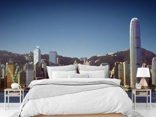 Hong Kong Skyline (View from Tsim Sha Tsui / Kowloon)