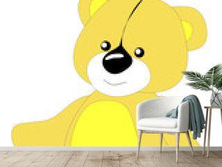 Children's toy, bear,Vector, illustration