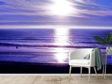 oregon coast panorama