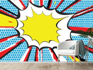 Pop Art style explosion