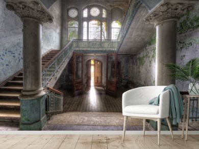 Eingang ins Sanatorium Beelitz