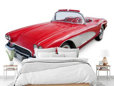 Classic Convertible Sports Car