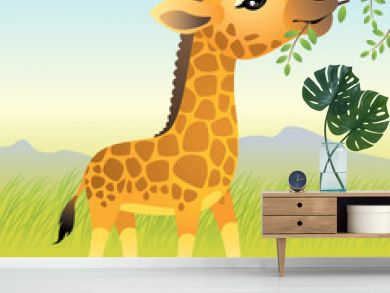 Baby Animal collection: Giraffe. More animals in my gallery.