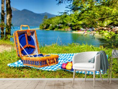 bavarian outdoor picnic