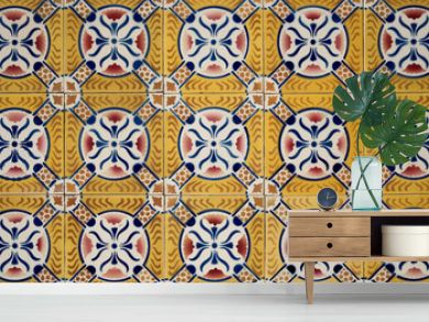 Traditional Portuguese azulejos