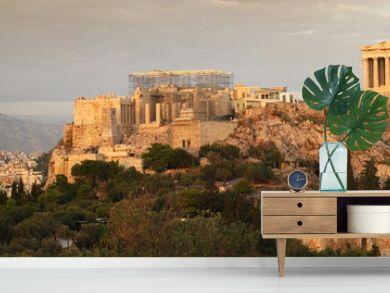 acropolis panoramic view