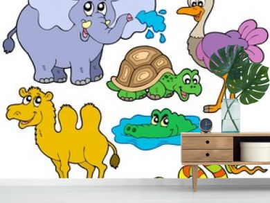 Tropical animals collection