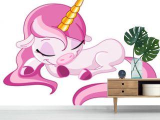 Sleeping unicorn