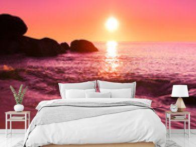 Background Sea Landscape