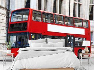 London Double decker red bus