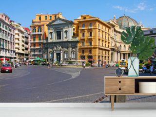Italian city Naples