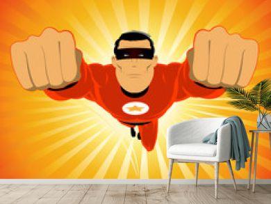 Comic-like Super-Hero