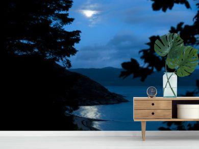 Moonlight Over Loch Linnhe