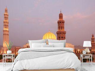 Sultan Qaboos Grand Mosque in Muscat, Oman