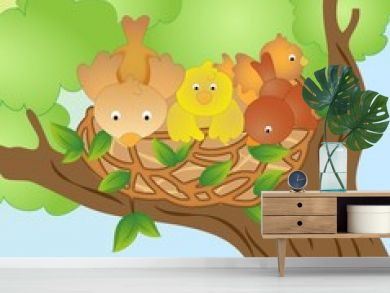 Nest of birds