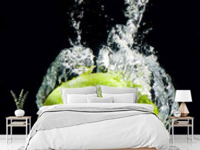 Lime Splashing