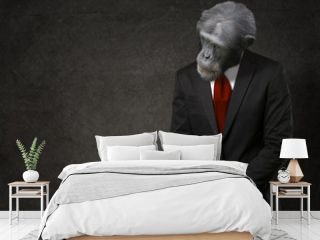 Business Monkey In Formal Attire