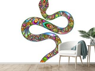 Snake Psychedelic Art Design-Serpente Psichedelico Arte Grafica