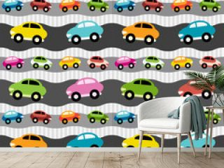 Background with cars