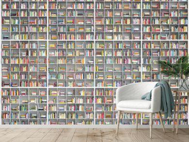 riesiges Bücherregal - giant huge bookshelf