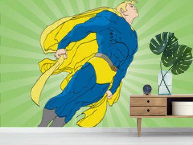 Floating Superhero